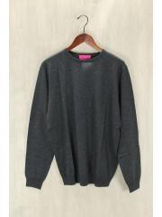 Vicomte A/カシミヤ混セーター(薄手)/L/--/GRY