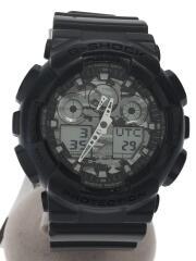 クォーツ腕時計/デジアナ/ラバー
