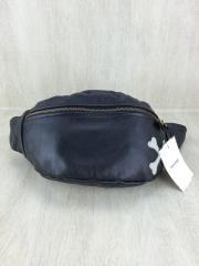 NEW FANNY-PACK/CROSSBONE BACKDROP別注/レザー/BLK