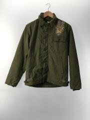A-2/DECK JACKET/GENERAL ZIP/フライトジャケット/--/コットン/KHK