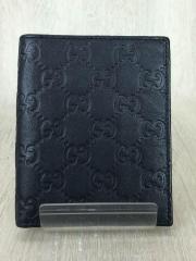 2つ折り財布/レザー