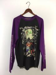 シュプリーム/長袖Tシャツ/L/コットン/ブラック/中古