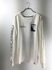 STEEP TECH スティープ テック/145850/長袖Tシャツ/S/コットン/WHT