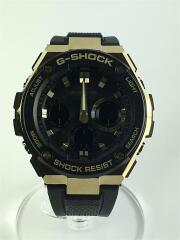 ソーラー腕時計・G-SHOCK/デジアナ/GLD