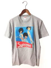 /Tシャツ/S/コットン/GRY