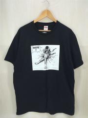 17AW/×AKIRA YAMAGATA TEE/Tシャツ/L/コットン/BLK/ブラック/黒