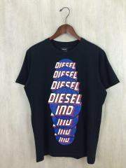 タグ付/T-PALAGIA/Tシャツ/S/コットン/BLK