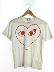 Tシャツ/L/コットン/WHT/AZ-T100