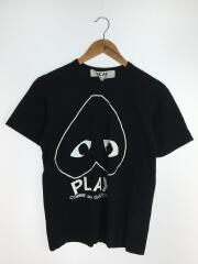 Tシャツ/M/コットン/BLK/AZ-T114