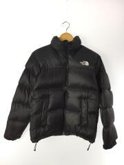 Nuptse Jacket/ヌプシ/ダウンジャケット/S/ナイロン/BLK