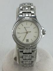 9040L/クォーツ腕時計/アナログ/ステンレス/WHT
