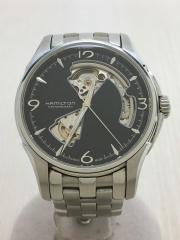 自動巻腕時計/アナログ/BLK/SLV/H325650/ジャズマスター/ビューマチック/