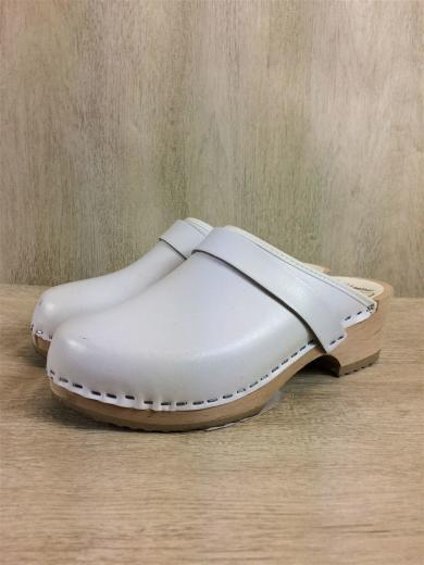MOHEDA TOFFELN / シューズ/37/WHT/サボ/スウェーデン製/サンダル/白/ホワイト/ナチュラル/靴/シンプル