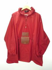 19AW/×DHEYGERE/convertible jacket/レインコート/UNISEX/ナイロン/RED/