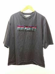 BEACH Half-Sleeve Tee/Tシャツ/FREE/コットン/NVY