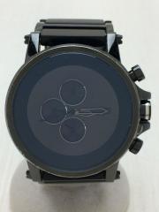 クォーツ腕時計/キズ有り/アナログ/ラウンド