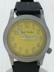 クォーツ腕時計/アナログ/YLW