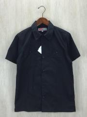半袖シャツ/S/コットン/BLK