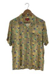 19ss/mini floral rayon shirt/半袖シャツ/M/レーヨン