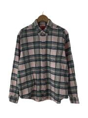 20AW/Tartan Flannel Shirt/ネルシャツ/M/ウール/PNK