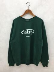 スウェット/XL/コットン/GRN/ciatre