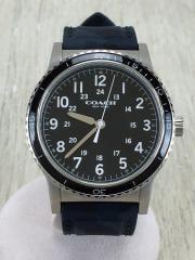 クォーツ腕時計/アナログ/BLK/NVY/W6189 DYB