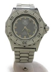 タグホイヤー/932213/プロフェッショナル/クォーツ腕時計/アナログ/ステンレス/SLV/中古