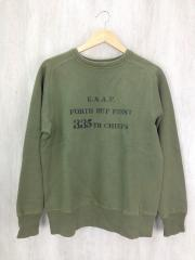 U.S.A.F. 335th CHIEFS/スウェット/L/コットン/GRN