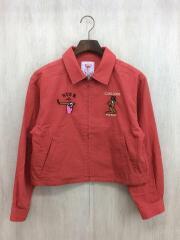 ジャケット/FREE/コットン/RED