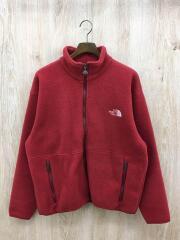 フリースジャケット/L/ポリエステル/RED/無地/ノースフェイス/NAW-3295