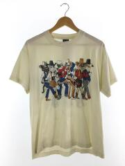 Tシャツ/L/コットン/IVO/90s/両面プリント/オールド/TEE/古着