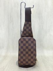ジェロニモス_ダミエエベヌ/PVC/BRW/総柄/N51994