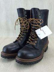 ブーツ/27cm/BLK/レッドウイング/ロガーブーツ/PT91/中古