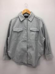 20SS/BIG CPO SHIRT/one/ポリエステル/GRY/KB04-27V010