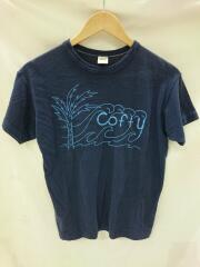 USED/80s/金タグ/Coffy/Tシャツ/M/コットン/NVY/MADE IN USA