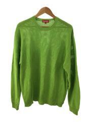 20SS/Back Logo Sweater/セーター(薄手)/XL/コットン/GRN/