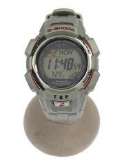 CASIO/カシオ/ソーラー腕時計/デジタル/BLK/SLV/ブラック/シルバー