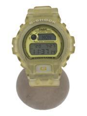 CASIO/カシオ/クォーツ腕時計・G-SHOCK/デジタル/YLW/イエロー