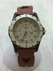 Safari/復刻モデル/クォーツ腕時計/アナログ/GLD/BRW/TW2P88300JP