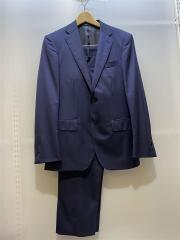 スーツ/44/ウール/NVY/fabric:REDA