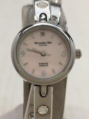 バングルタイプ/クォーツ腕時計/アナログ/PNK/AO-7600-2