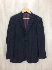 スーツ/--/ウール/GRY/ストライプ