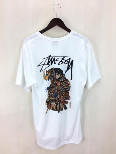 STUSSY / Tシャツ/M/コットン/WH...