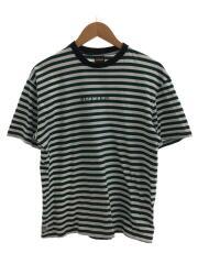 Tシャツ/M/コットン/ボーダー