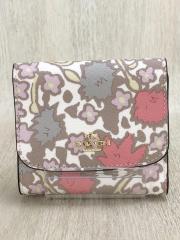 2つ折り財布/--/WHT/レディース