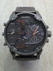クォーツ腕時計/アナログ/GRY
