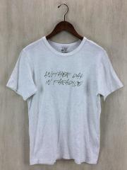 Tシャツ/3/コットン/WHT