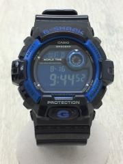 クォーツ腕時計/デジタル/BLK/BLU/G-8900A-1JF/箱付き