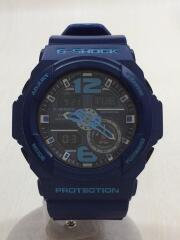 クォーツ腕時計・G-SHOCK/デジアナ/BLU