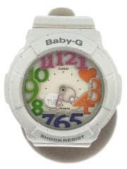 腕時計/アナログ/エナメル/CRM/WHT